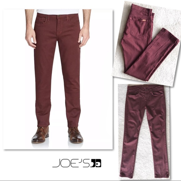 Joe's Jeans Other - JOE'S JEANS SLIM FIT RED SEA MENS JEANS 33 x 34